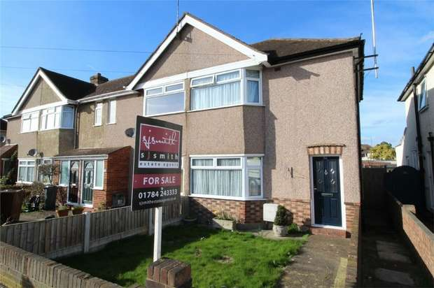 2 Bedrooms End Of Terrace House for sale in Hamilton Road, Lower Feltham, Middlesex
