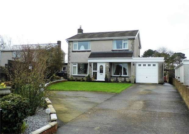 4 Bedrooms Detached House for sale in St Marys View, Coychurch, Bridgend, Mid Glamorgan