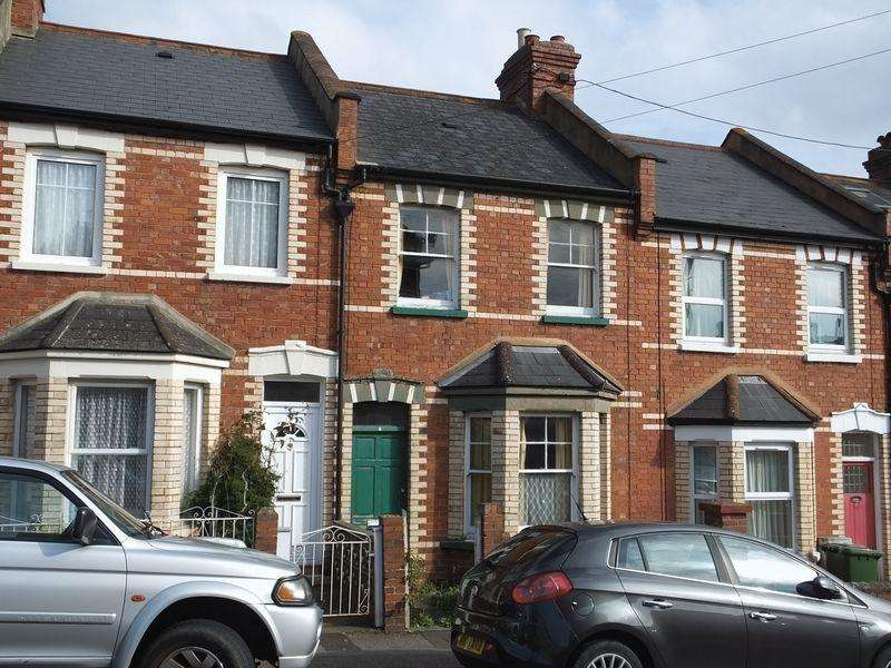 2 Bedrooms Terraced House for sale in Commins Road, Exeter