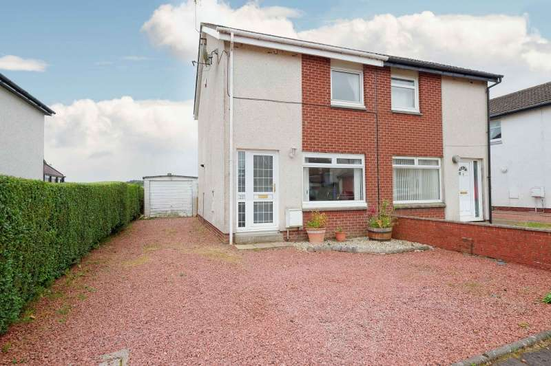 2 Bedrooms Semi Detached House for sale in Mauldslie Place, Ashgill, Larkhall, South Lanarkshire, ML9 3BE