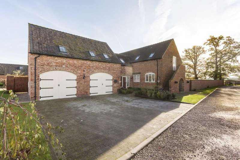 5 Bedrooms Barn Conversion Character Property for sale in Abbots Bromley, Rugeley, Staffordshire, WS15 3EL