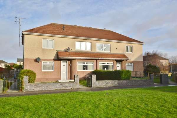 2 Bedrooms Flat for sale in 13 Whitlees Crescent, Ardrossan, KA22 7AR