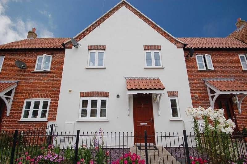 2 Bedrooms Terraced House for sale in Beeston Mews, Cromer Road, Sheringham