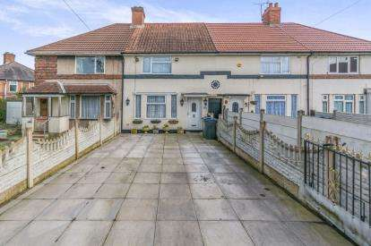 3 Bedrooms Terraced House for sale in Nailstone Crescent, Birmingham, West Midlands