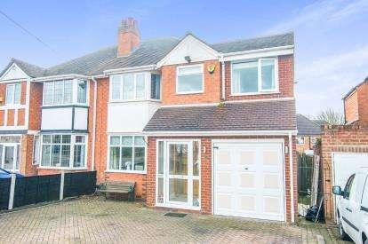 4 Bedrooms Semi Detached House for sale in Hawthorne Road, Castle Bromwich, Birmingham, West Midlands
