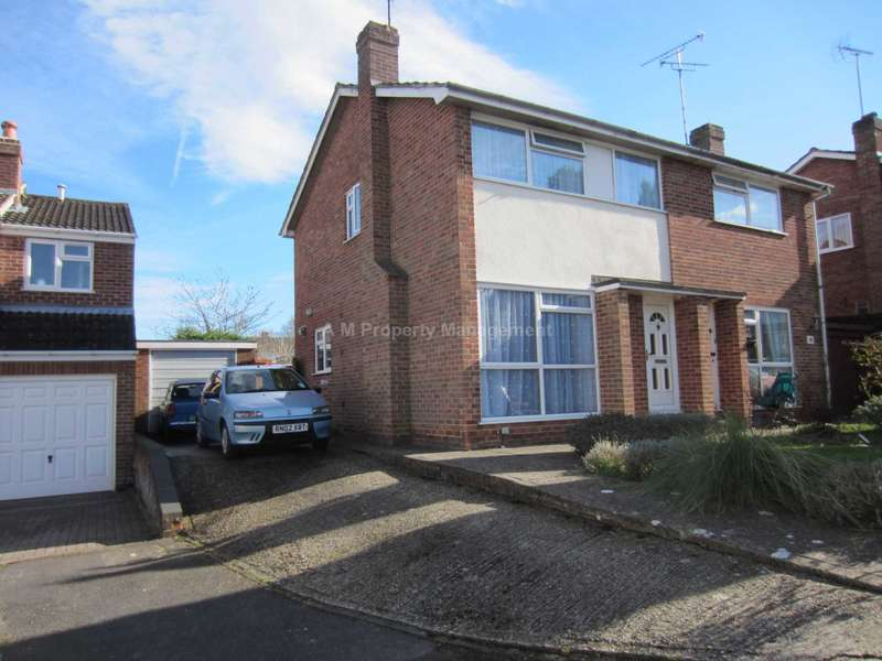 3 Bedrooms Semi Detached House for sale in Gwynne Close, Tilehurst