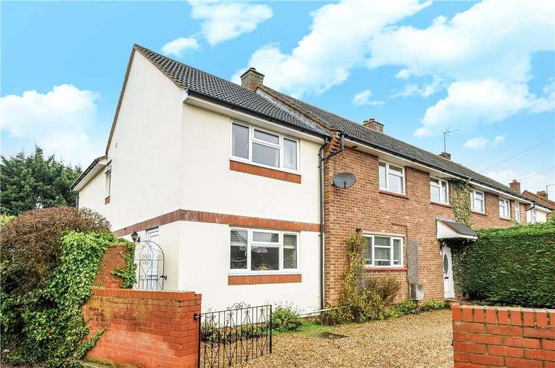 5 Bedrooms Semi Detached House for sale in Rye Crescent, Cople, Bedford, Bedfordshire