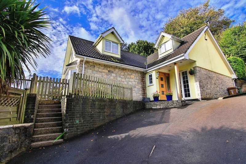 4 Bedrooms Detached House for sale in Rhyd-Y-Gwern Lane, Draethen