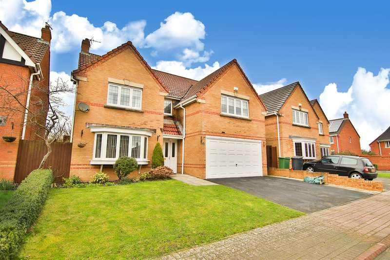 4 Bedrooms Detached House for sale in Lon Lindys, Rhoose Point, Barry