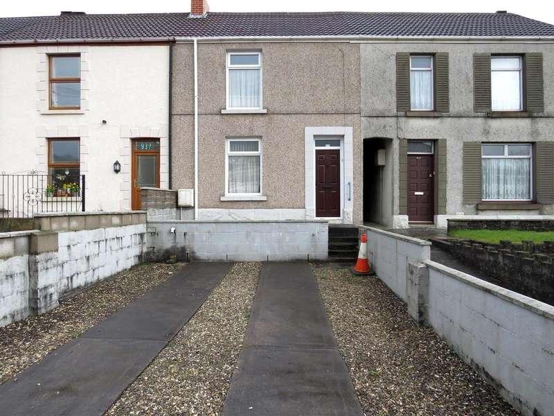 2 Bedrooms Terraced House for sale in Llangyfelach Road, Tirdeunaw, Swansea