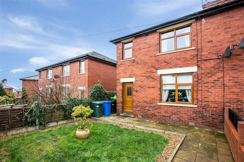 3 Bedrooms Semi Detached House for sale in Birch Avenue, Hurstead, OL12 9QH