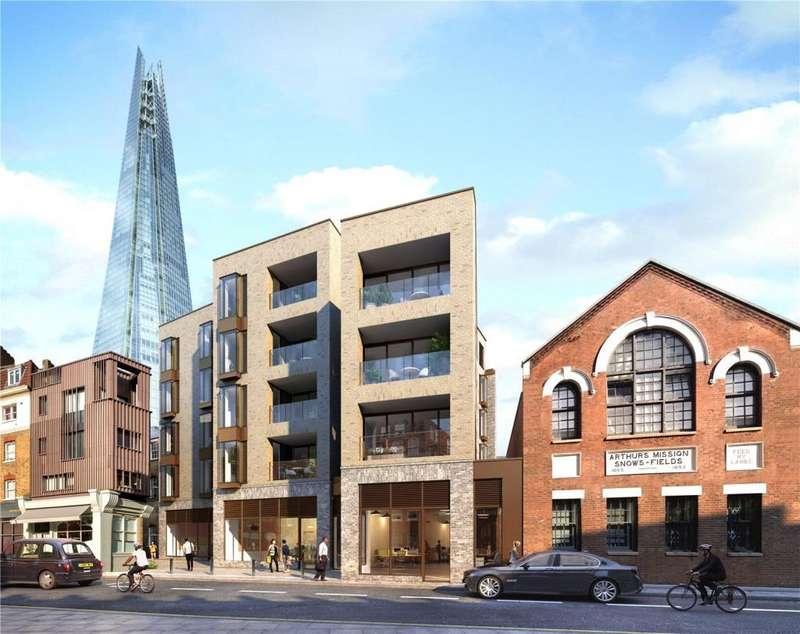 1 Bedroom Flat for sale in Snowsfields Yard, 6 - 16 Melior Street, London, SE1