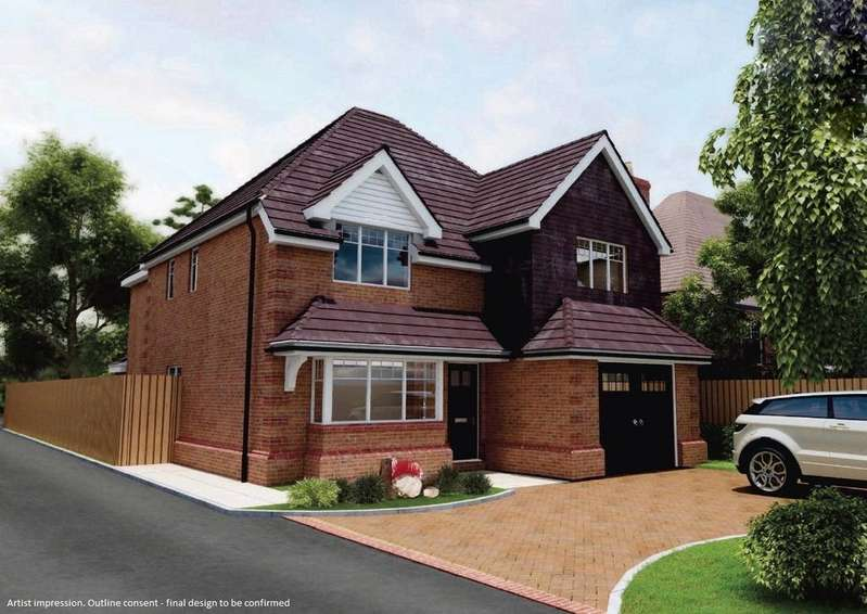 4 Bedrooms Detached House for sale in Hollybush Lane, Burghfield Common, Reading, Berkshire, RG7