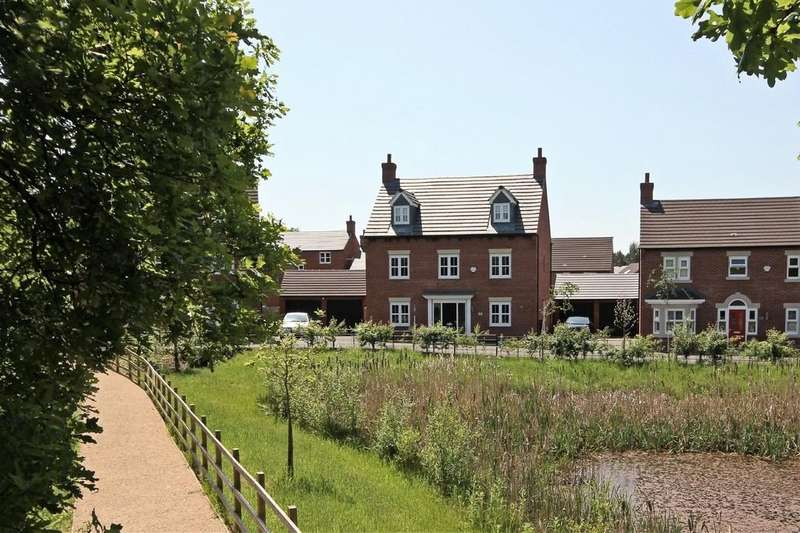 5 Bedrooms Detached House for sale in Wood Drive, Kegworth