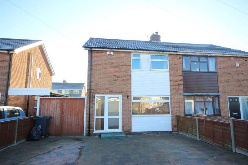 2 Bedrooms Semi Detached House for sale in Wordsworth Way, Measham