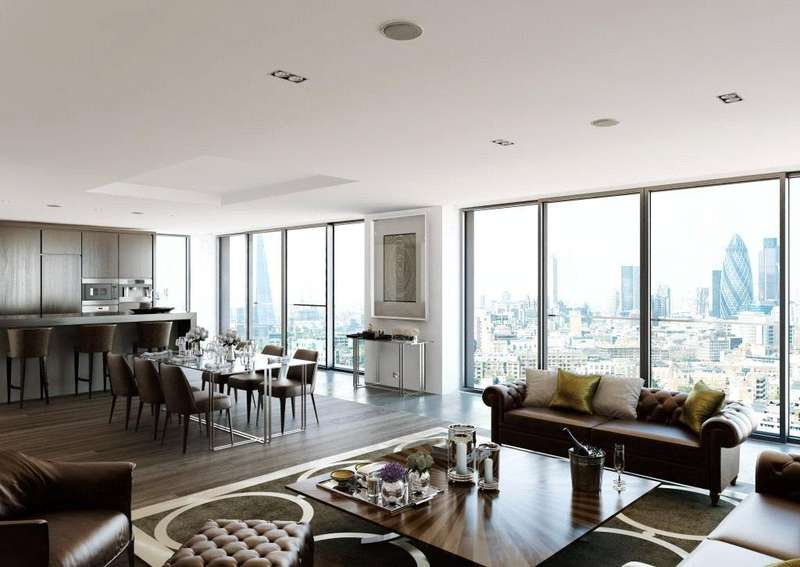 3 Bedrooms Flat for sale in Leman Street, London, E1