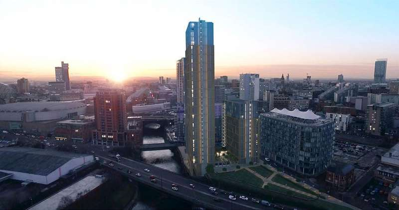 2 Bedrooms Apartment Flat for sale in Greengate, The Residence