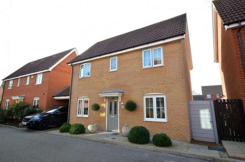3 Bedrooms Detached House for sale in Fels Way, Mayland, Chelmsford, Essex, CM3
