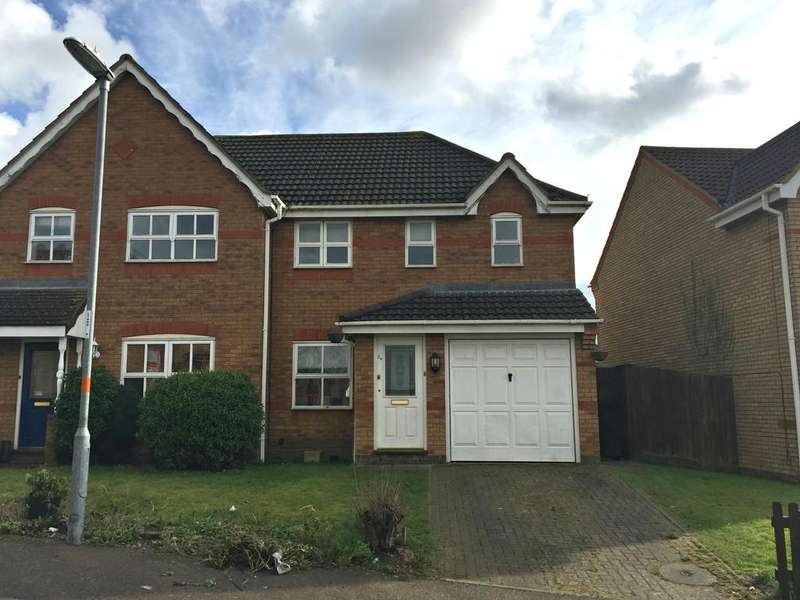 3 Bedrooms Semi Detached House for sale in Hans Apel Drive, Brackley