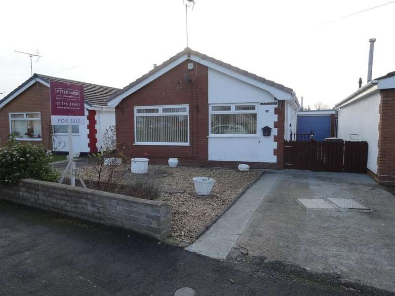 2 Bedrooms Detached Bungalow for sale in Lon Heulog, Kinmel Bay