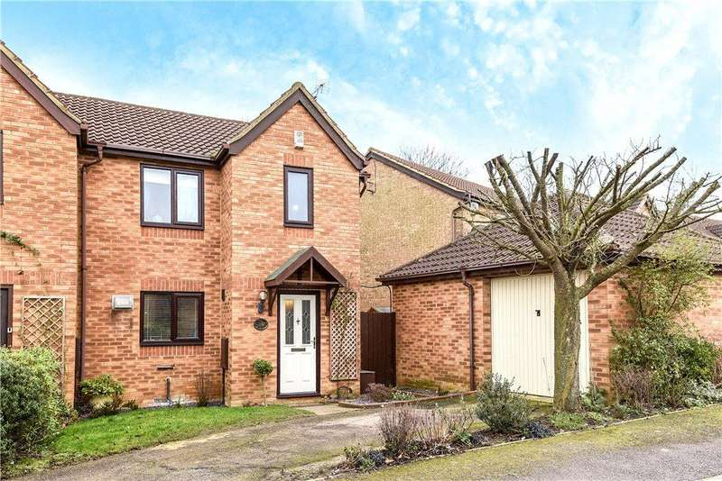 3 Bedrooms Semi Detached House for sale in Minerva Gardens, Wavendon Gate, Milton Keynes, Buckinghamshire