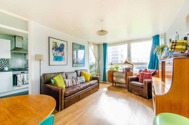 3 Bedrooms Maisonette Flat for sale in De Beauvoir Estate, Islington, N1