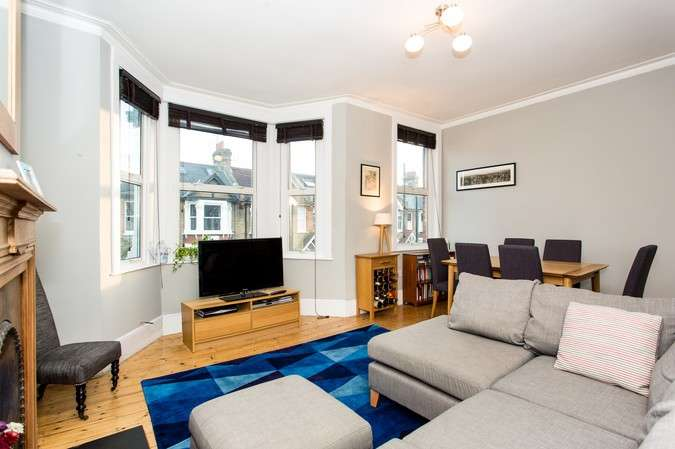 2 Bedrooms Flat for sale in Whellock Road, Chiswick