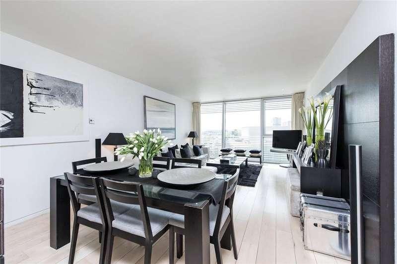 2 Bedrooms Flat for sale in Albion Riverside Building, 8 Hester Road, Battersea, SW11