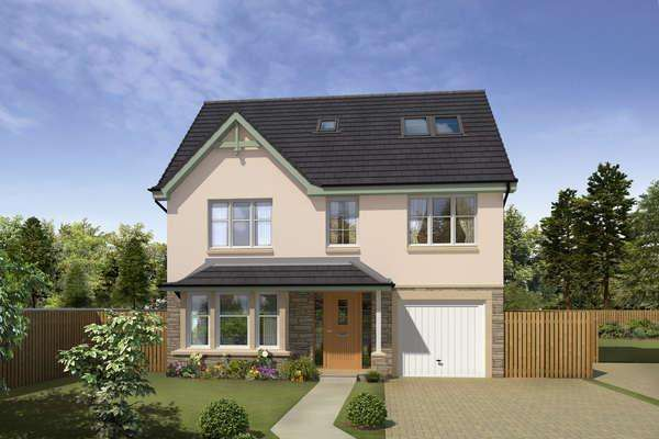 4 Bedrooms Detached House for sale in Wallace, Barons Gate, Motherwell, ML1 2FW