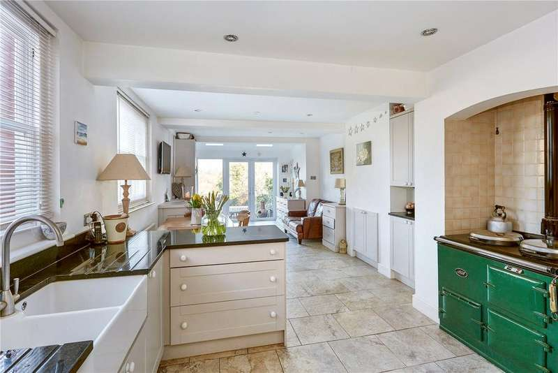 5 Bedrooms Semi Detached House for sale in Wickham Hill, Hurstpierpoint, Hassocks, West Sussex, BN6