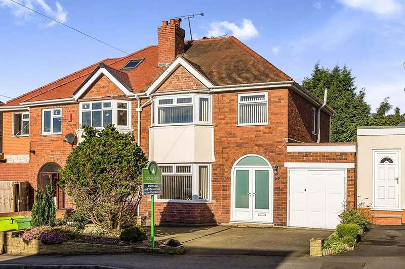 3 Bedrooms Semi Detached House for sale in Dingle Road, Oakham, Dudley, DY2