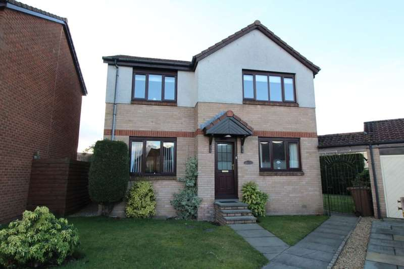 4 Bedrooms Detached House for sale in Heatherwood Park, Pumpherston, Livingston, EH53