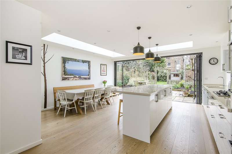5 Bedrooms Semi Detached House for sale in Cornford Grove, London, SW12