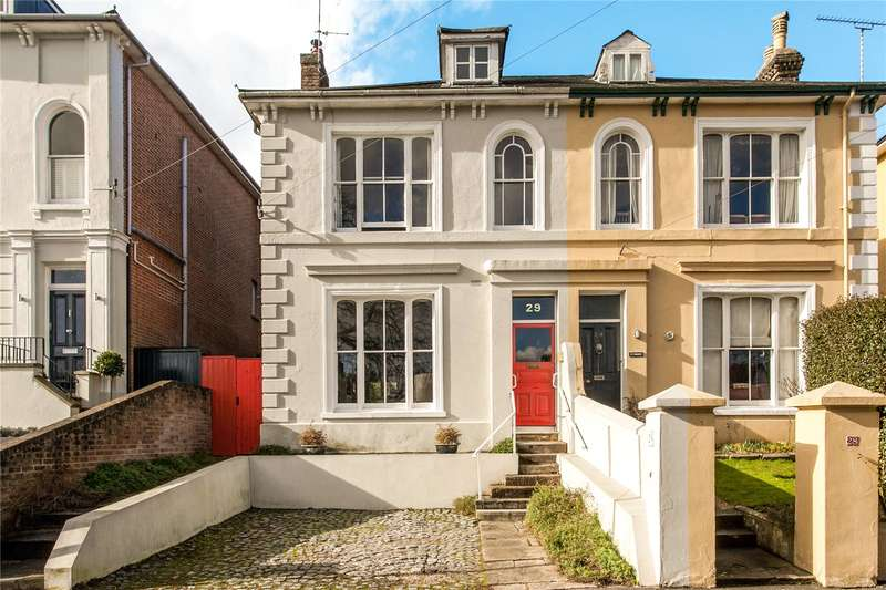 5 Bedrooms Semi Detached House for sale in Edgar Road, Winchester, Hampshire, SO23