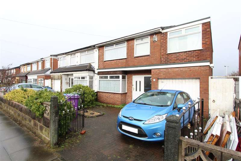 4 Bedrooms Semi Detached House for sale in Warmington Road, Knotty Ash, Liverpool