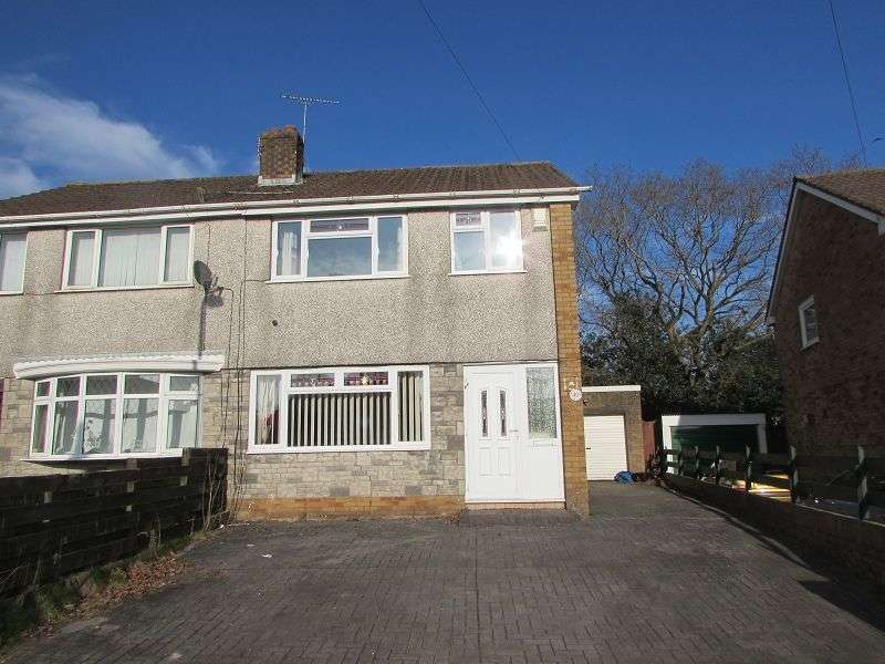 3 Bedrooms Semi Detached House for sale in Deri Avenue, Pencoed, Bridgend. CF35 6TT