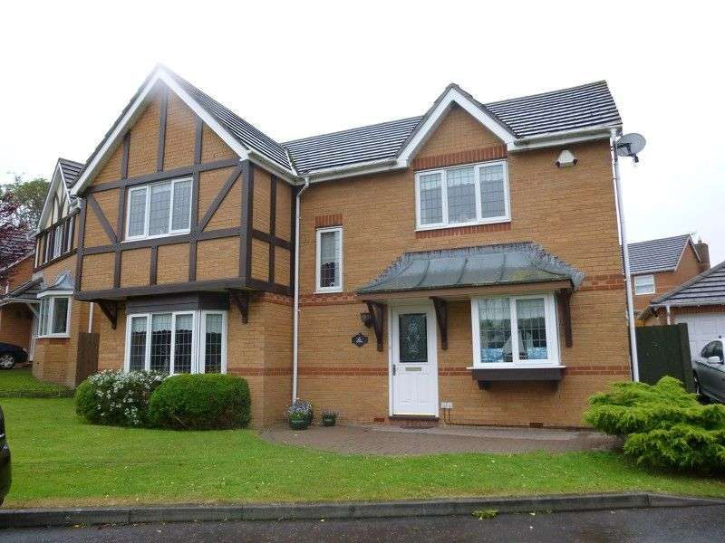 4 Bedrooms Detached House for sale in Tir Celyn, Margam Village , Port Talbot, Neath Port Talbot. SA13 2UZ