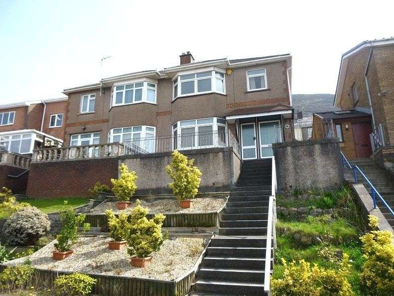 3 Bedrooms Semi Detached House for sale in Lletty Harri , Port Talbot, Neath Port Talbot. SA13 2ES