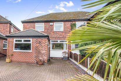 3 Bedrooms Semi Detached House for sale in Church Lane, Sale, Trafford, Greater Manchester