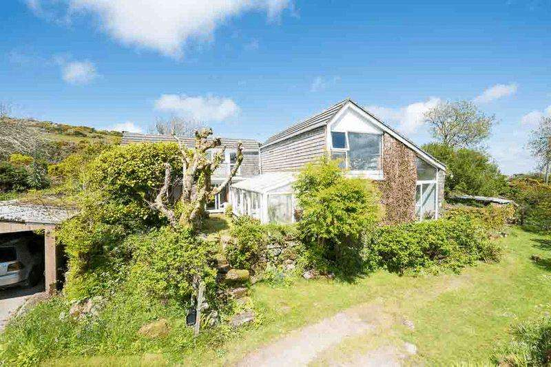 5 Bedrooms Detached House for sale in Rural Towednack, Nr. St Ives