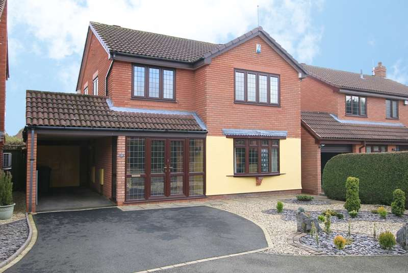 4 Bedrooms Detached House for sale in Barnetts Close, Kidderminster, DY10