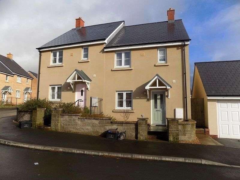 3 Bedrooms Semi Detached House for sale in Ffordd Y Grug , Coity, Bridgend. CF35 6BQ