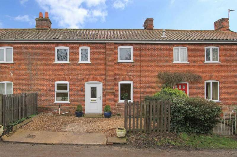 3 Bedrooms Cottage House for sale in School Cottages, School Lane, Runhall, Norfolk