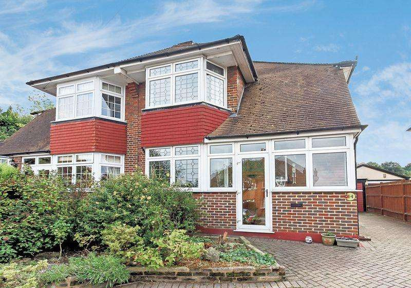 4 Bedrooms Semi Detached House for sale in Ferris Avenue, Shirley