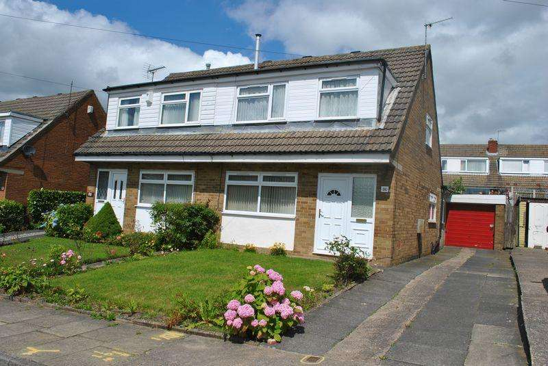 3 Bedrooms Semi Detached House for sale in Sunningdale, Fairweather Green BD8 0LZ