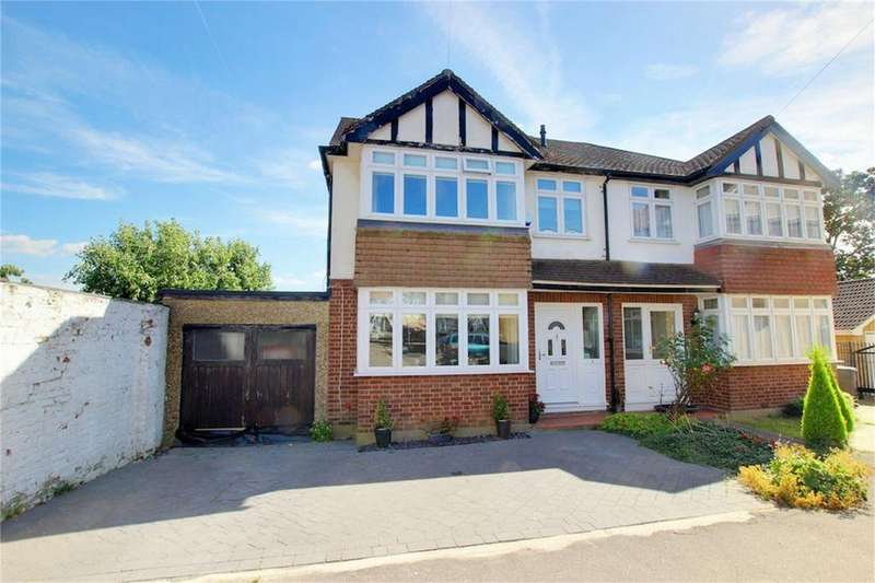 4 Bedrooms Semi Detached House for sale in Briar Close, Buckhurst Hill, Essex
