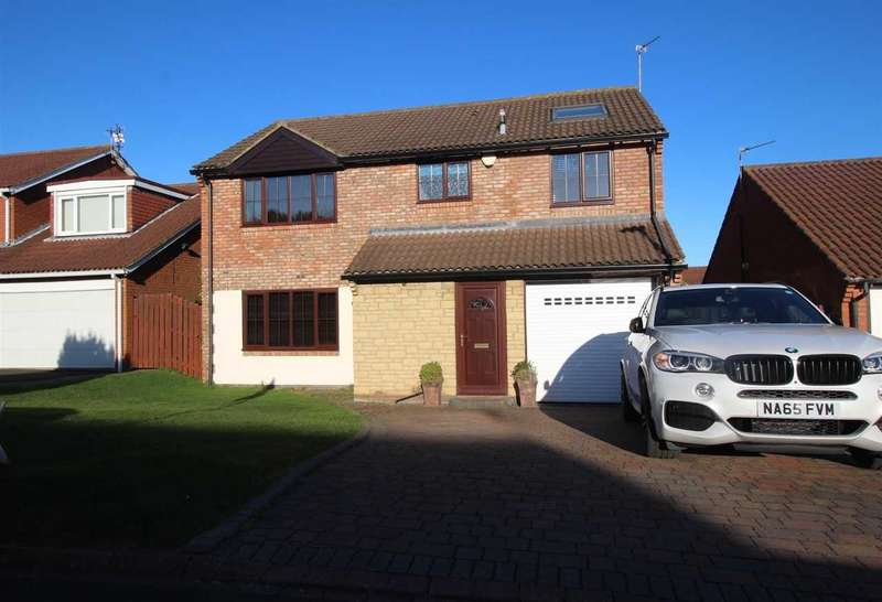 4 Bedrooms Detached House for sale in Whiteford Place, Netherfield Park, Seghill