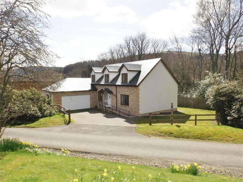 4 Bedrooms Detached House for sale in Broadmeadows, Yarrowford, SELKIRK, Scottish Borders
