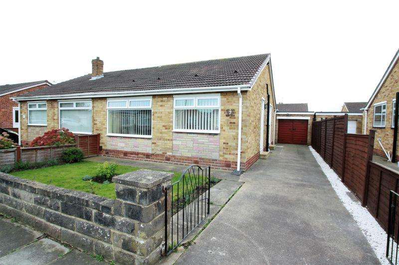 2 Bedrooms Semi Detached Bungalow for sale in Murton Close, Thornaby, Stockton, TS17 0ER