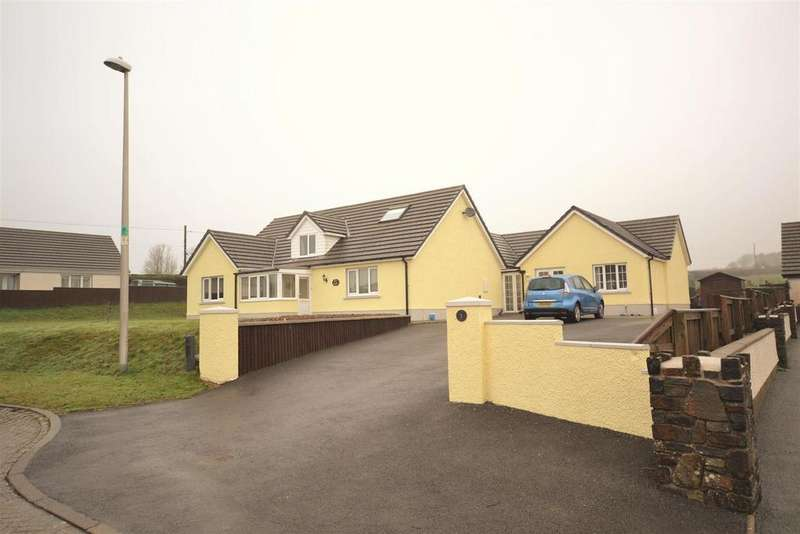 6 Bedrooms Detached Bungalow for sale in Efailwen, Clynderwen